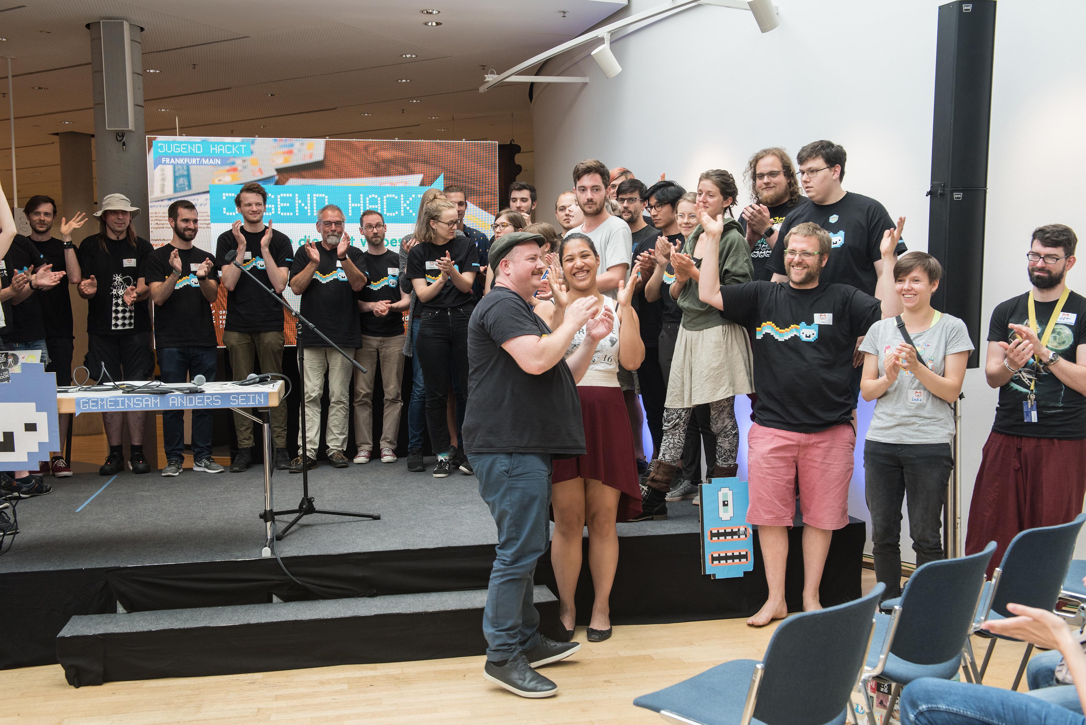 Jugend hackt! Frankfurt 2018