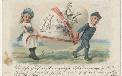 """""""Frohe Ostern"""" und andere Grusskarten"""