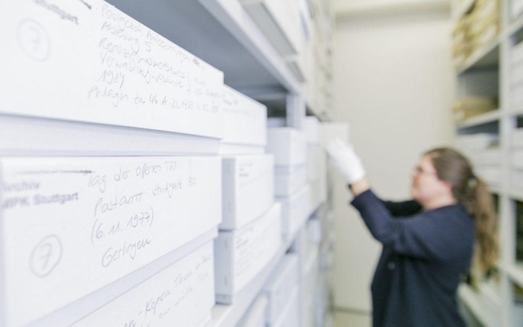 Alles am richtigen Platz – die Zusammenführung des historischen Archivs in der Sammlung