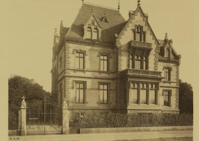 Abb. 4 Villa de Neufville, 1893 (Foto: MSPT)