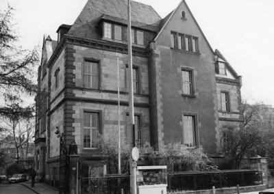 Abb. 6 Villa de Neufville, 1970er (Foto: MSPT)