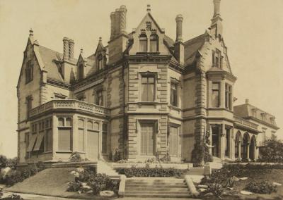 Abb. 3 Villa de Neufville, 1892 (Foto: MSPT)