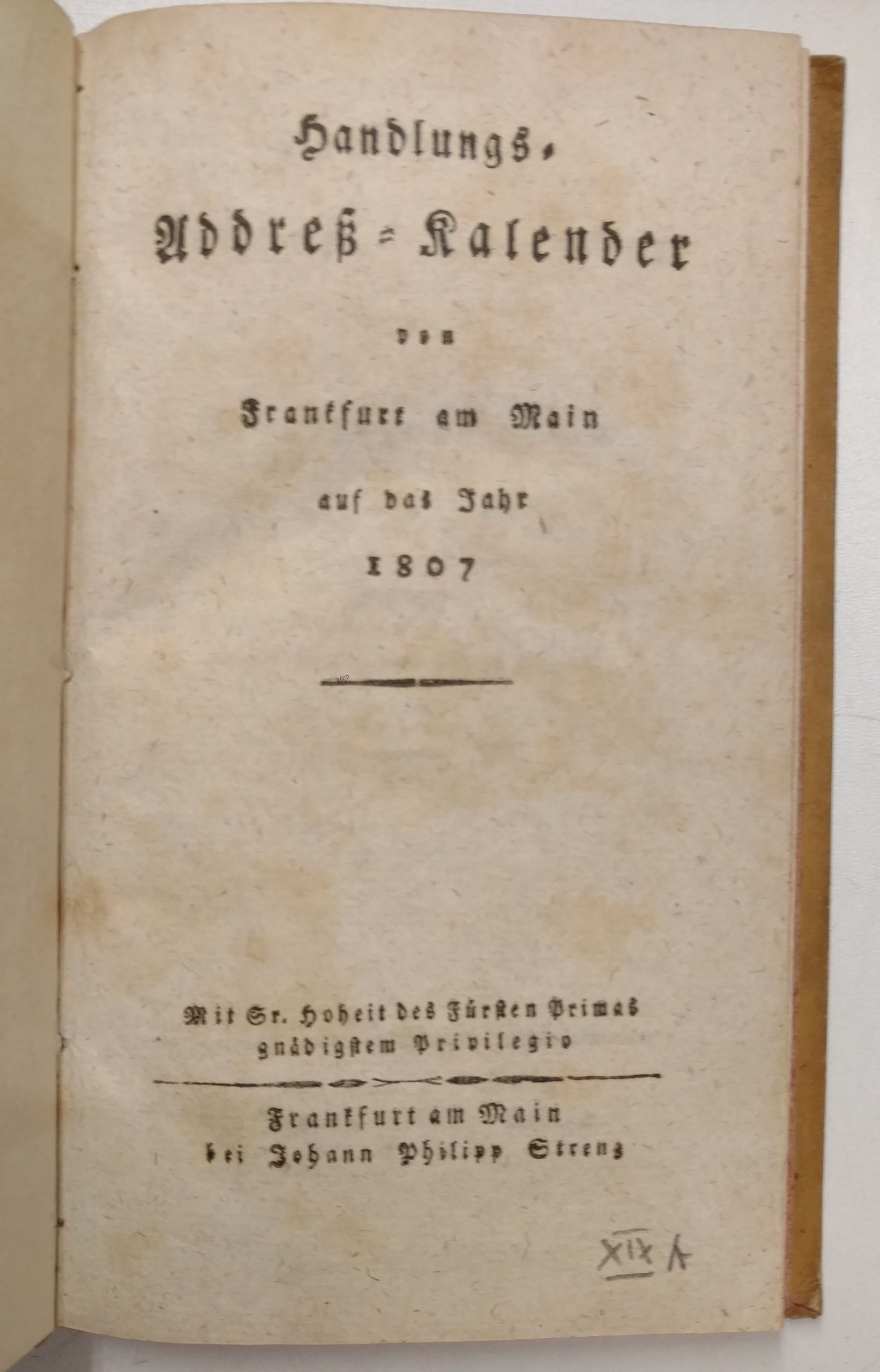 Handels-Addreßkalender Heilbrunn