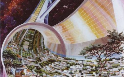Die Idee einer aufblasbaren Raumstation