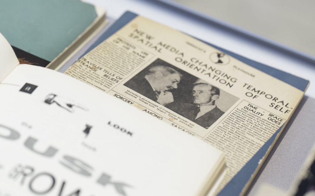 Im Gespräch: McLuhans Bücher
