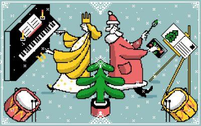 4, 3, 2, 1 – Weihnachten!