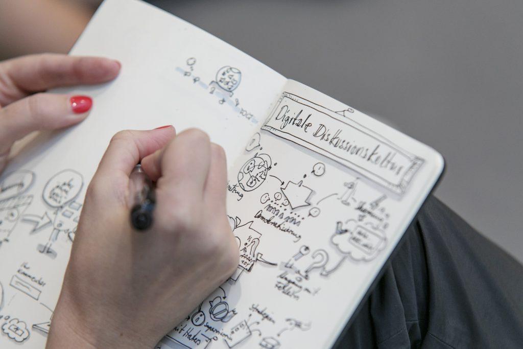 Notizbuch. Foto: MSPT | Stefanie Kösling